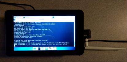 Using Re4son's Kali-Pi & the Mana-Toolkit on a Raspberry Pi